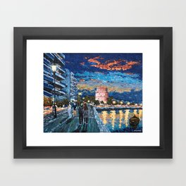 Greece: Thessaloniki In Memory Framed Art Print
