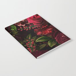 Vintage & Shabby Chic - Vintage & Shabby Chic - Mystical Night Roses Notebook