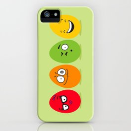 Funny Easter eggs iPhone Case