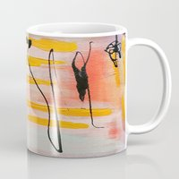 graffiti Mugs featuring Graffiti by Iris & Ino