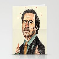 better call saul Stationery Cards featuring saul! by withapencilinhand