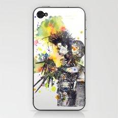 Edward Scissor Hands iPhone & iPod Skin