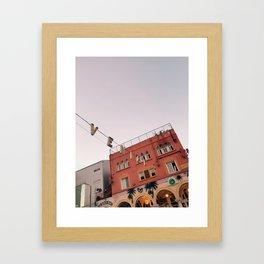 Venice Golden Hour Framed Art Print