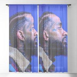 Nipsey Hussle  Sheer Curtain