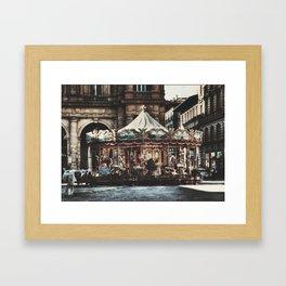 The Carousel II Framed Art Print