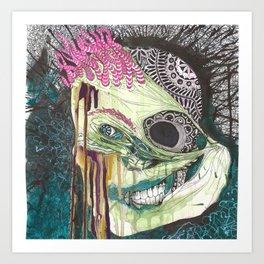 Gentleman Savage Art Print