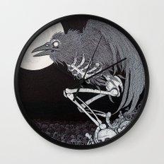 Angel of Death Wall Clock