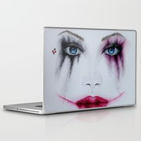harley Laptop & iPad Skins featuring Harley Quinn by Halinka H