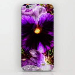 Tunnel Flower iPhone Skin