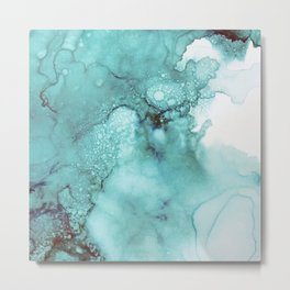 Aquatic Metal Print