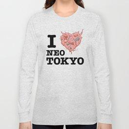 I Tetsuo Neo Tokyo Long Sleeve T-shirt