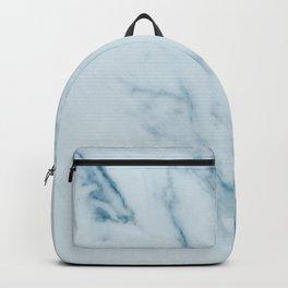 Teal Swirl Marble Backpack