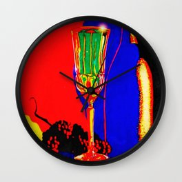 """Infrared Evenings"" Wall Clock"