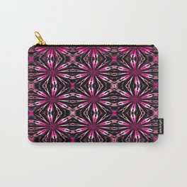 Floral motive ruby rose Carry-All Pouch