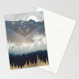 Blue Mountain Mist Stationery Cards