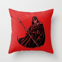 DeathVader Throw Pillow