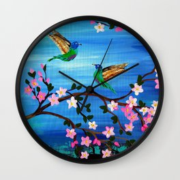 Our Lives Entwined Wall Clock