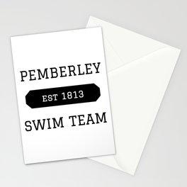 Pemberley Swim Stationery Cards