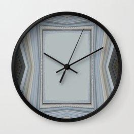 Brown and Grey Tones of Eucalyptus 2  Wall Clock