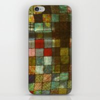 blanket iPhone & iPod Skins featuring Blanket by Lyssia Merrifield