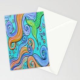 Surf Art 5 Stationery Cards
