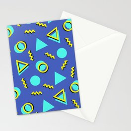 Memphis pattern 63 Stationery Cards