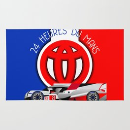 24 Hours of Le Mans - Toyota TS050 Rug