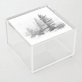 Bear Rocks in Fog Acrylic Box