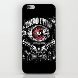 Humanoid Typhoon iPhone Skin