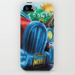 Mickey's Jalopy iPhone Case