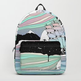 Journey to A Greater Existence (Your Life On Your Hands) Backpack