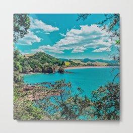 Tutukaka Coast, New Zealand Metal Print