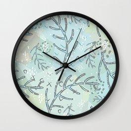 Spruce Wall Clock