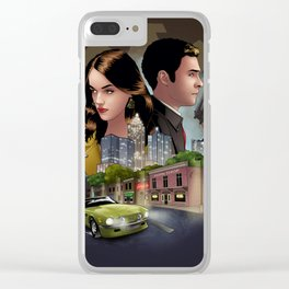 Fitzsimmons - Undercover Clear iPhone Case