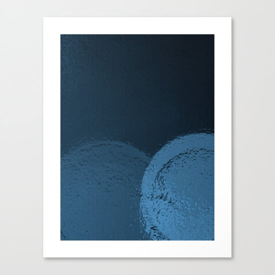 Dark Night Blues Canvas Print