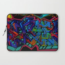 Graffiti Downtown ATL Laptop Sleeve