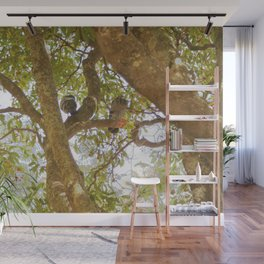Incense tree with pigeons Wall Mural