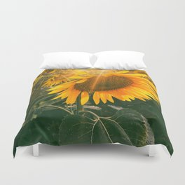 summer in the fields Duvet Cover