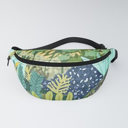 Wild Jungle || #illustration #painting Fanny Pack