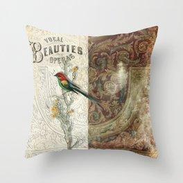Vocal Beauties Throw Pillow