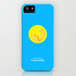 DE ZERO EN HERO ( Hercule) iPhone Case