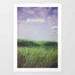 Beach Dunes - Summer of Love Art Print