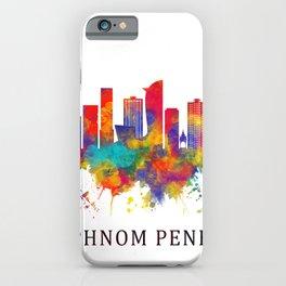 Phnom Penh Cambodia Skyline iPhone Case