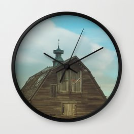 Country Days Wall Clock