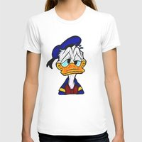 donald duck T-shirts featuring Donald Duck by DisPrints