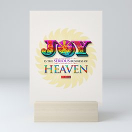 Serious Joy Mini Art Print