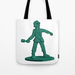 Army Grenadier Toy Soldier Tote Bag