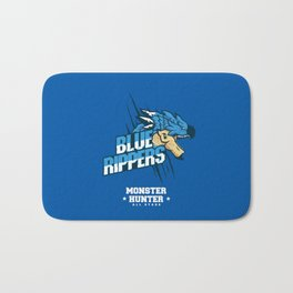 Monster Hunter All Stars - Blue Rippers Bath Mat