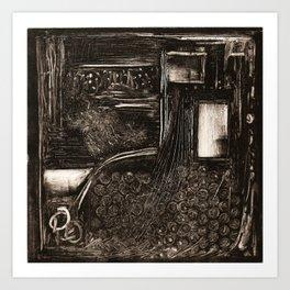 Doorway to Where? Art Print