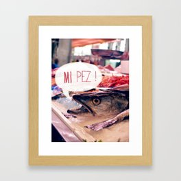 · Mi Pez · Framed Art Print